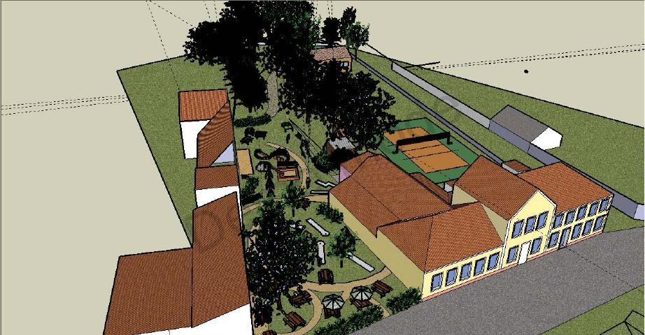 Návrh na úpravu prostoru bývalého letního kina
