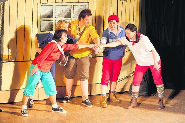 Divadlo: RYCHLÉ ŠIPKY