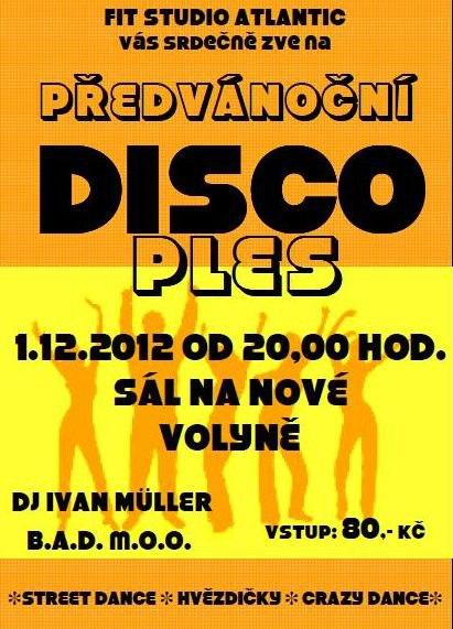 Předvánoční disco ples FIT STUDIA ATLANTIC