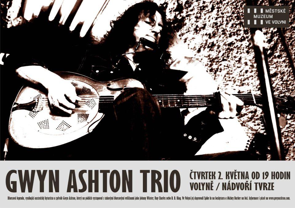 Koncert:GWYN ASHTON TRIO