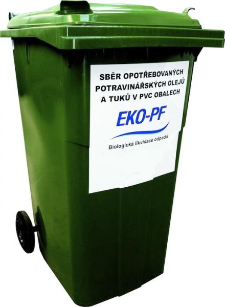 Sběr upotřebeného potravinářského oleje a tuku ve Volyni
