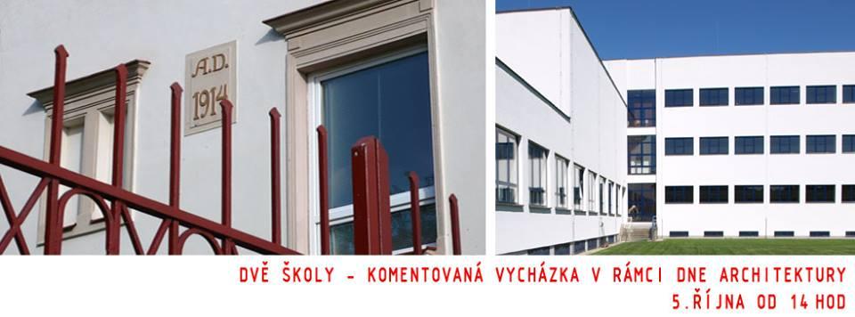 Den architektury: Dvě školy