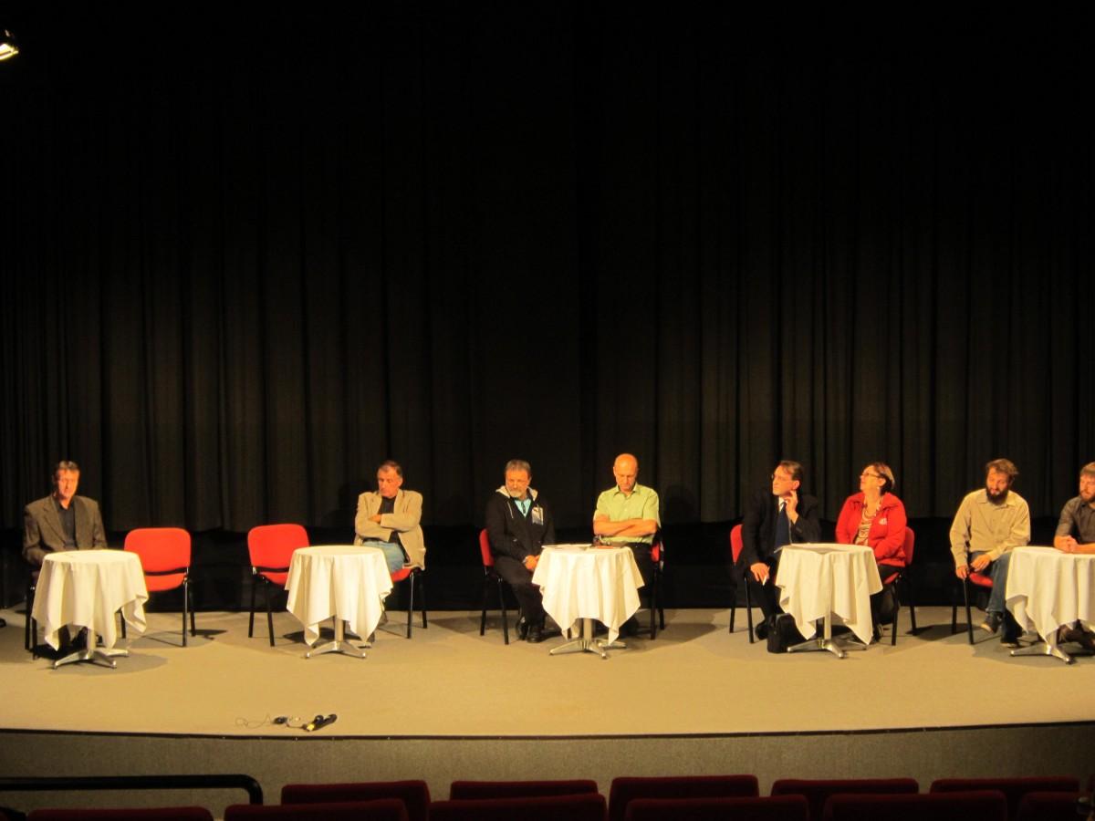 Diskuse kandidátů do zastupitelstva 2014