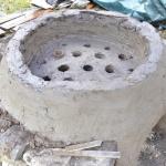 Kopie středověké pece