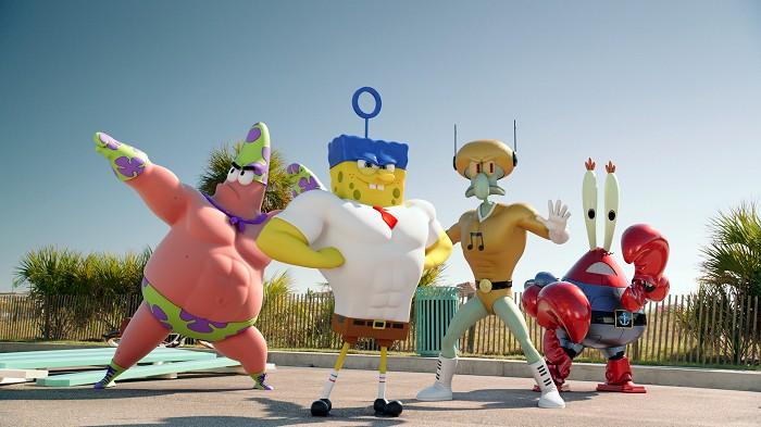 Kino: SpongeBob ve filmu - Houba na suchu
