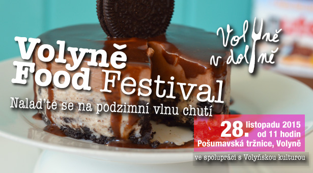 Informace pro účastníky Volyně Food Festivalu