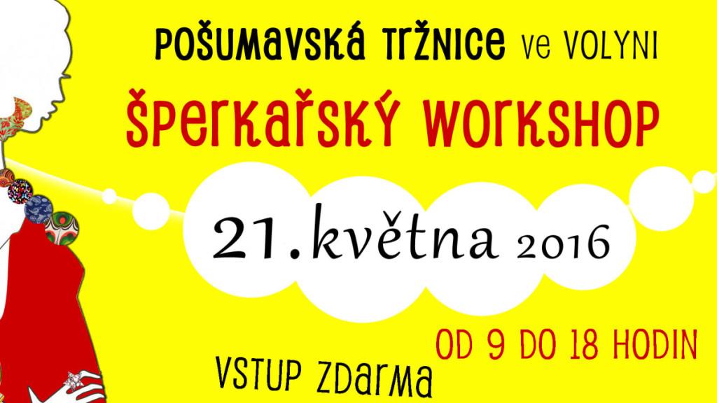 Šperkařský workshop PODESÁTÉ!!