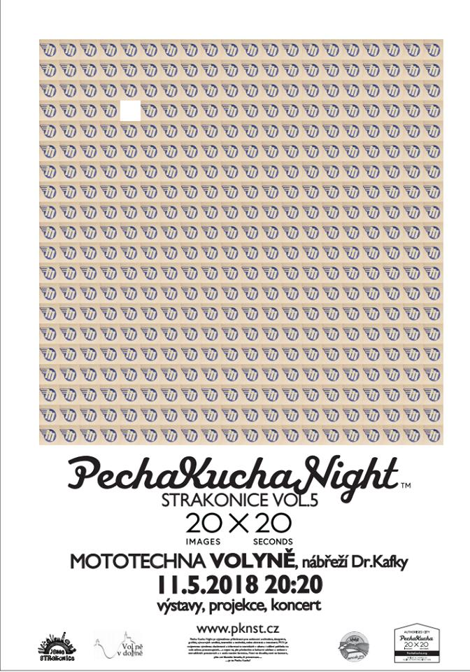 Historicky první Pecha Kucha Night ve Volyni