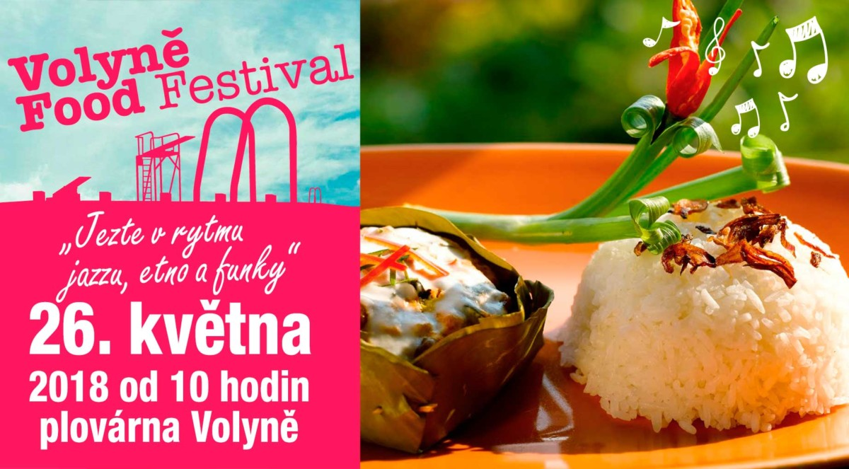 Volyně Food Festival 2018-informace pro návštěvníky