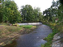 Město a řeka - Volyňka poprvé
